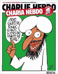 Charlie Hebdo, Mahomet, et le piège à cons - Rue89 - Charia Hebdo couverture de Luz