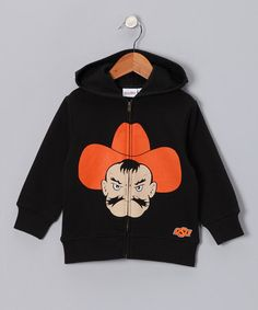Take a look at this MascotWear Oklahoma State Cowboys Zip-Up Hoodie - Toddler & Kids by MascotWear on #zulily today!