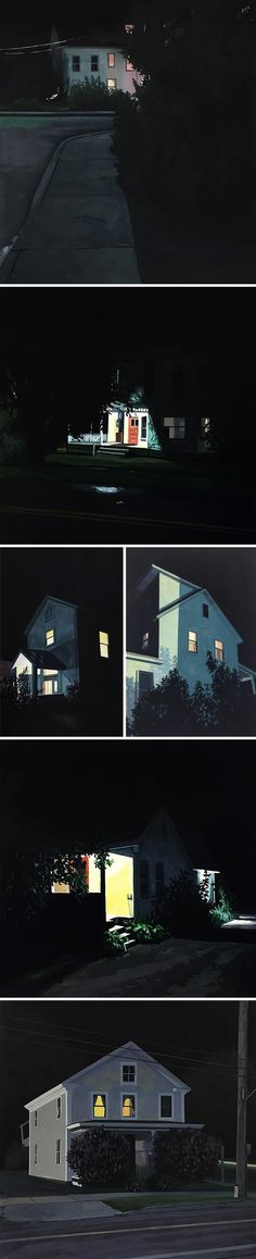 Chrisropher Burk. I love these night-time landscapes