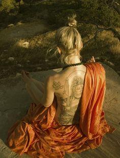 Zen MeditationॐAmazing tattoo