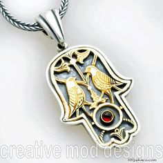 Hamsa: It is the symbolic hand of the Prophet Muhammad's daughter, Fatima, and later adopted by several other religions.