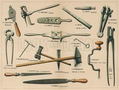 Guide to smithing tools.
