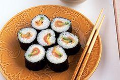 Smoked Salmon and Avacado Sushi