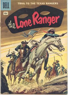 The Lone Ranger Comic 105 CoolCowboyComics brings you western comic books on Kindle! Vintage Comic Books, Vintage Comics, Gi Joe, Western Comics, The Lone Ranger, Legendary Creature, Desenho Tattoo, Old Comics, Fiction Novels