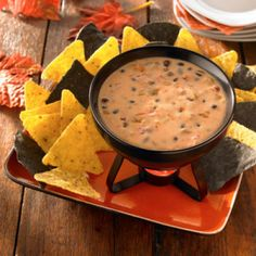 Spooky Hot Cheese Dip - Holidays