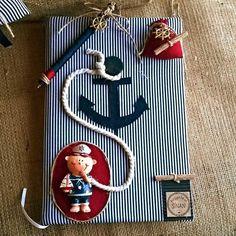 Denizci Bebek Anı Defteri -  #anıdefteri #denizcidefter #özelgündefteri