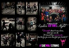 Howlin' proud for all of you who are willing to live  #OUTSIDEtheBOX and prove that #StrongIsBeatiful!   Join us for Ladies Lifting Night every Thursday at 6pm! Open and adjustable to all ages and fitness levels!