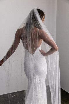 Better together Our NEW signature CLO gown coupled with the long PEARLY veil is pure magic. Wedding Dress Trends, Wedding Gowns, Backless Wedding, Lace Wedding, Dream Wedding, Wedding Wear, Wedding Ceremony, Lace Bride, Grace Loves Lace