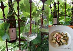 Ein passender Wein zu Nudeln und Spargel!