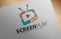 Screen Play Logo by Creative Dezing on @creativemarket