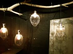 Hobart Whisk Lamps...   available at The Michael Weems Collection      www.michaelandrigo.com