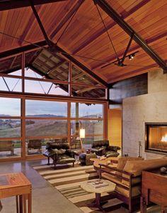 Rancho LC en Montana Combinación de Diseño Natural y Moderno | Decoration Digest