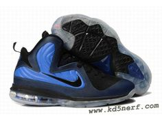 super popular 66517 5c478 Lebron 9 Shoes Lebrons IX ID Foamposite Orlando Midnight Navy Black Blue