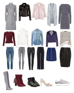"""Cool Winter colour Palette - Capsule Wardrobe"" by stylistlindsaypunch on Polyvore featuring Ted Baker, Claudie Pierlot, Miss Selfridge, JoosTricot, River Island, Givenchy, J Brand, Phase Eight, Proenza Schouler and Isa Arfen"