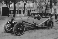Andre Lagache & Rene Leonard First Place Le Mans 1923 for Chenard Walcker the 1st Le Mans.