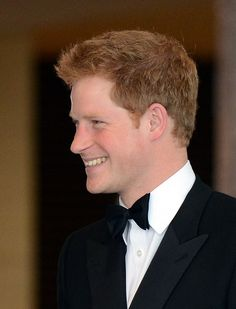 Prince Harry arrives for the Atlantic Council 2012 Annual Awards Dinner at a hotel in Washington on May 7, 2012.