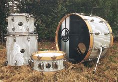 3rd and 4th custom drums