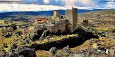 Portugal - Castelo de Marialva - Há uma lenda antiga que fala da Dama Pés de Cabra, original desta terra do concelho de Mêda, ainda hoje, alguns crêem que se vê a criatura a vaguear na torre de menagem do castelo que se encontra em ruínas...   Flickr – Compartilhamento de fotos!