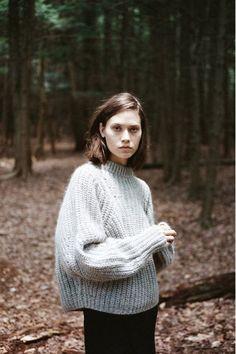 Time of the season: Big chunky knits