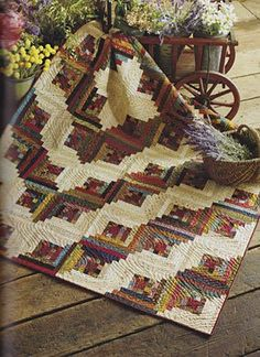 Simple Friendships II | ConnectingThreads.com Current Catalog, Sampler Quilts, Log Cabin Quilts, Signature Style, Quilt Blocks, Quilt Patterns, Charity, Bohemian Rug, Friendship