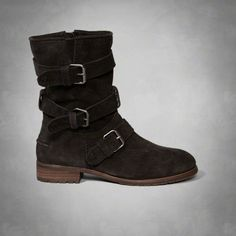 Introducing a Brand We Love, Dolce Vita. This slouchy boot is covered in supersoft suede and features wraparound straps with an effortlessly cool vibe.<br>Suede upper<br>Heel: 1.25 inches