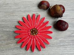Romantic Boho Red by Coco on Etsy