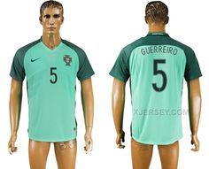 http://www.xjersey.com/portugal-5-guerreiro-away-euro-2016-thailand-soccer-jersey.html PORTUGAL 5 GUERREIRO AWAY EURO 2016 THAILAND SOCCER JERSEY Only 33.11€ , Free Shipping!