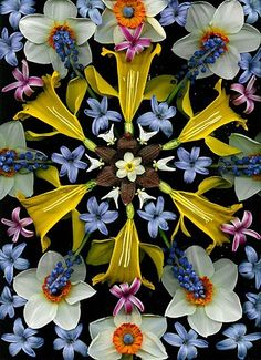 Not Kaleidoscopic Flowers but arranged which makes it a Danmalas.