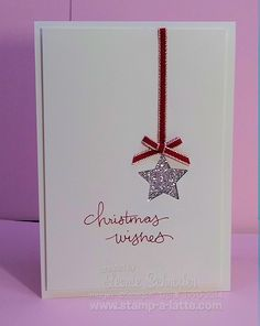 Christmas Card - All essential products for this project can be found on Crafting.co.uk - for all your crafting needs.