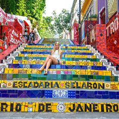 Brazilian Steps, Lapa   www.theroadlestraveled.com