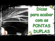 DICAS PARA ACABAR COM AS PONTAS DUPLAS  | Pam Rocha