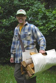 Easy Tote Firewood Carrier: