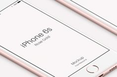 This is the new rose gold psd iPhone 6s mockup from our iphone mockup series. We included the iPhone 6s front,...
