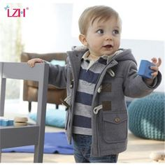 Infant Baby Jacket 2019 Autumn Winter Jacket For Baby Coats Kids Warm Hooded Outerwear Coat For Baby Boys Clothes Newborn Jacket Price: Baby Boy Jackets, Girls Winter Jackets, Winter Outfits For Girls, Newborn Boy Clothes, Newborn Outfits, Baby Boy Outfits, Fashion Kids, Style Fashion, Baby Coat