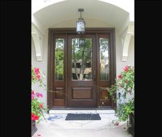 36 entry door with sidelights | Exterior Doors: Side Light Entry Doors