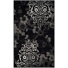 Safavieh Adirondack Black/Silver 3 ft. x 5 ft. Area Rug-ADR114A-3 - The Home Depot