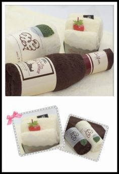 Excited to share the latest addition to my #etsy shop: Wine, Vanilla Roll Towel Cake & Vanilla French Cake Towel Set http://etsy.me/2hSQIJ0 #weddings #uniquefancygift #wedding #holiday #towelset #teachergift #sister #brother #birthday