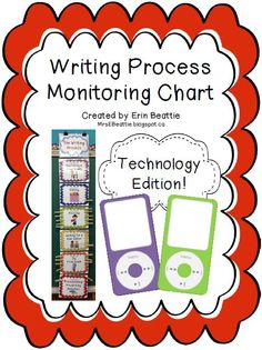 Writing Organization Woes Solved in Mrs. Beattie's Classroom! ~Technology Theme PLUS iTheme BONUS~