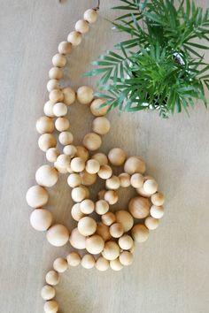 wood bead strand 9