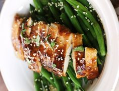 Spiced Ginger Chicken Recipe  by worthcooking: Ginger spiced chicken breast with a slightly sticky coating and a delectable sauce.  #Chicken #Ginger #Healthy