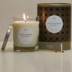 nicerworld.com - KOBO Candles - Filament Collection - Kyoto Quince