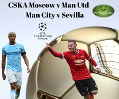 Manchester United head to Russia as Manchester City have the opportunity to move into the top two both games Kick Off at 19:45 live at the Woodman Inn Parkend, Join us for some food and Drinks and some great footy! ‪#‎thewoodmaninn‬ ‪#‎forestofdean‬ ‪#‎football‬ www.thewoodmanparkend.co.uk