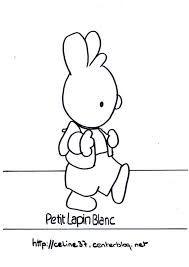 """Résultat de recherche d'images pour """"image le petit lapin blanc"""""""
