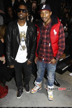 Love Kanye's style not too sure on Pharrell