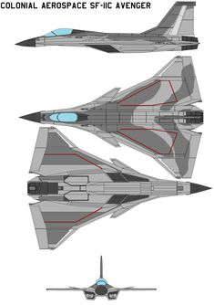 Colonial Aerospace SF-11C Avenger by bagera3005.deviantart.com on @DeviantArt