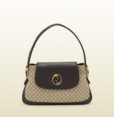 5a7b1b7b55f7 gucci 1973 beige/ebony diamante fabric top handle bag Gucci Bags Outlet,  Shoes Outlet