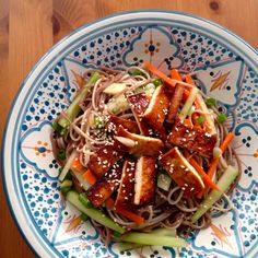 Thug Kitchen's Kicking Cold Citrus Noodles with Cucumbers and Carrots – The Crafty Cook Nook Veg Recipes, Delicious Vegan Recipes, Kitchen Recipes, Asian Recipes, Vegetarian Recipes, Dinner Recipes, Cooking Recipes, Healthy Recipes, Vegan Meals