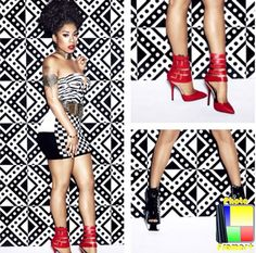 ba800df55e8 Keyshia Cole Releases Ad Campaign For Her Second  Keyshia Cole By Steve  Madden  Collection