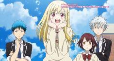 Yamada-kun-to-7-nin-no-Majo-Anime Shoujo, Witches, I Movie, Manga Anime, Fandoms, Life, Witch, Fandom