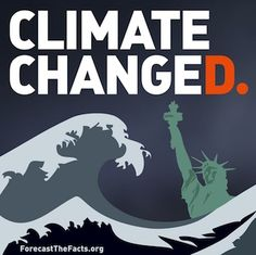Forecast the Facts | Free Sandy Sticker from Forecast The Facts: Climate Changed
